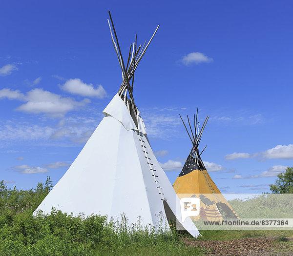 Wigwam  Kanada  Manitoba