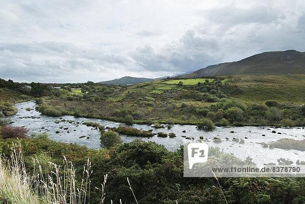 entfernt  Berg  Landschaft  rennen  Irland