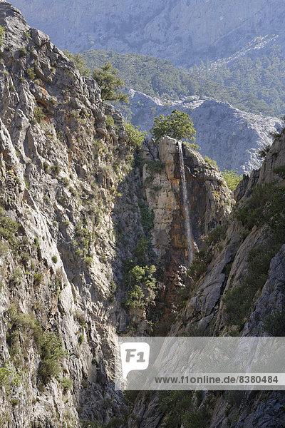 Sapadere Canyon  Taurusgebirge  Provinz Antalya  Türkei