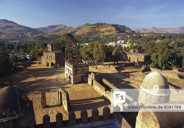 Royal Enclosure  Ethiopia  Africa
