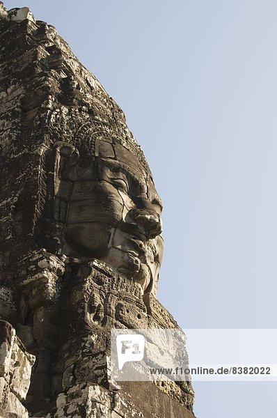 fünfstöckig  Buddhismus  Angkor Thom  Bayon Tempel  Kambodscha  Siem Reap