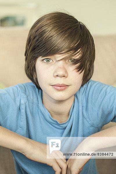 Teenager-Junge  Porträt