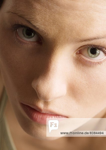 Frauengesicht  Porträt