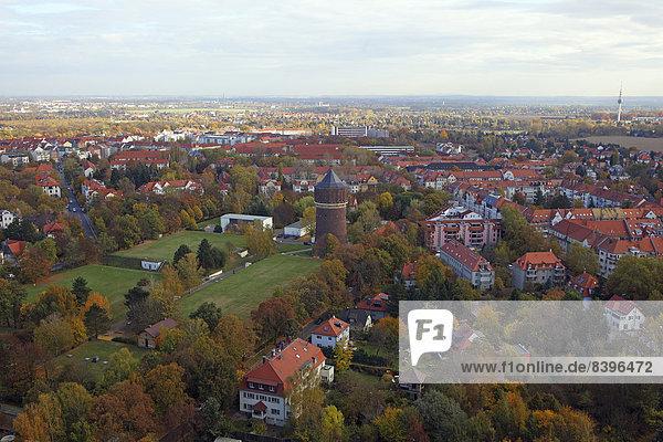 Großstadt Monument Herbst Schlacht Ansicht 04 Umgebung Deutschland Leipzig Sachsen