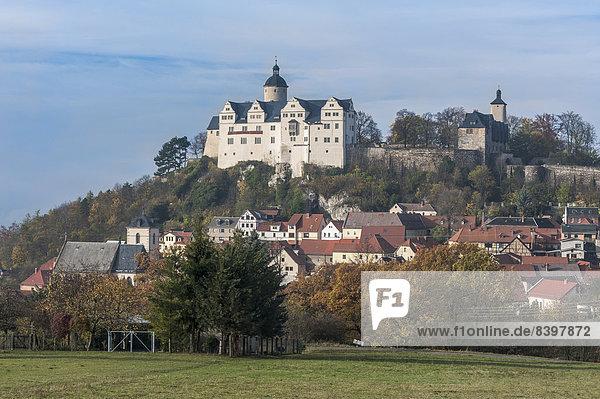 Palast Schloß Schlösser Dorf Deutschland Thüringen