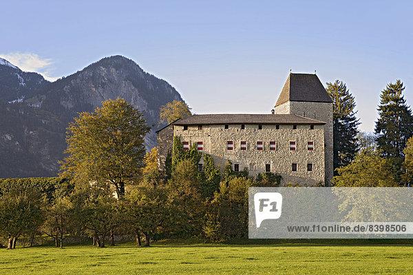 Burg Lichtwerth  Kramsach  Tirol  Österreich