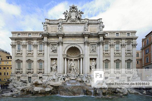 Trevi-Brunnen  Rom  Italien
