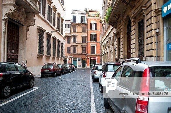 Rom Hauptstadt Straße Italien Nachbarschaft