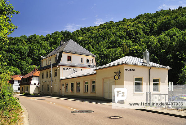 Germany  Saxony  Glashuette  company building Wempe  watch manufacturer