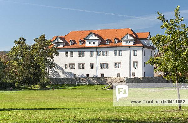 Regionalmuseum und Veranstaltungsort  Schloss Frankenhausen  Bad Frankenhausen/Kyffhäuser  Thüringen  Deutschland