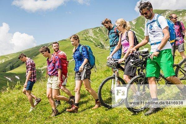 Freundeskreis Mountainbiken und Wandern  Tirol  Österreich