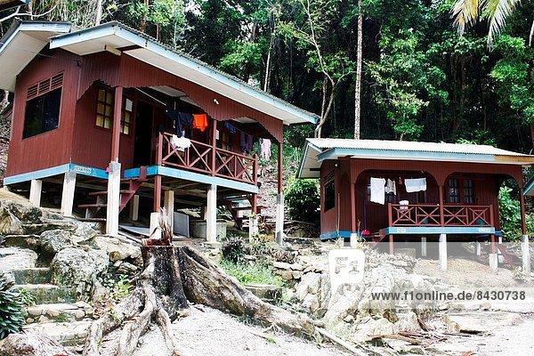 Wohnhaus Strand Insel Malaysia