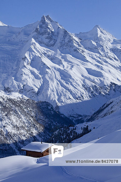 Hütte Europa Berg Winter Chalet Schweiz Wintersport Berghütte