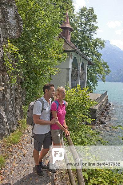 Frau Mann Vierwaldstättersee Zentralschweiz