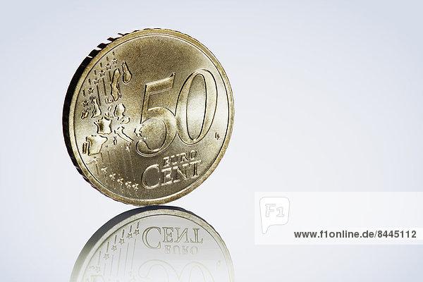Fünfzig-Euro-Cent-Münze