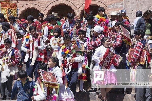 Vorbereitung  Religion  Festival  Peru  Südamerika