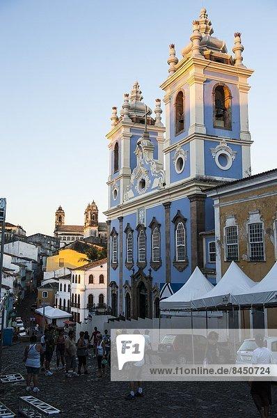 UNESCO-Welterbe  Bahia  Brasilien  Pelourinho  Südamerika