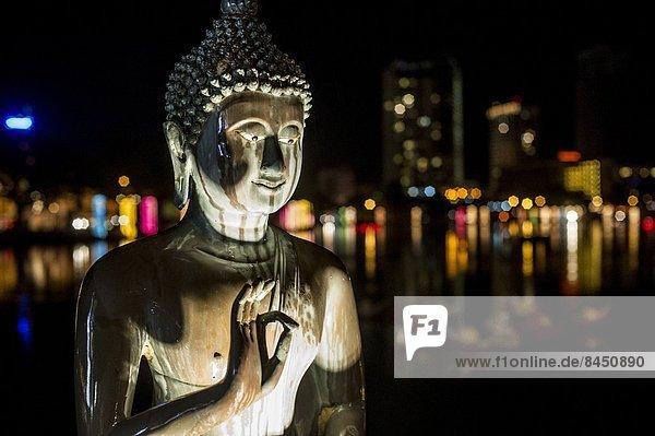 Colombo  Hauptstadt  Fest  festlich  Statue  Geburtstag  Festival  Asien  Buddha  Sri Lanka