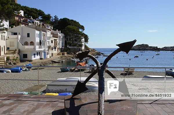 Europa Schönheit Thunfisch Gewölbe Katalonien Costa Brava Spanien
