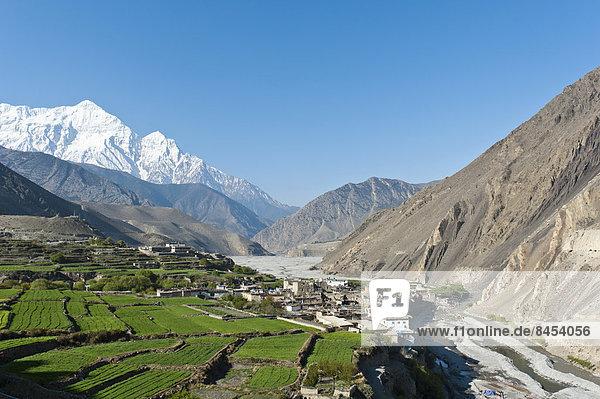 Fluss Beschluss Nepal