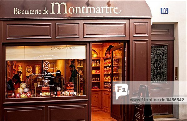 Paris  Hauptstadt  Montmartre