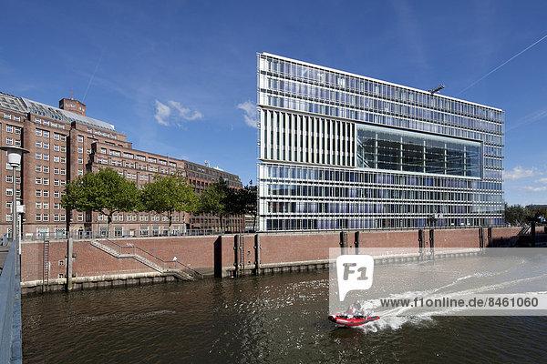 Deichtor-Center am Oberhafen in der Hafencity  Hamburg  Deutschland