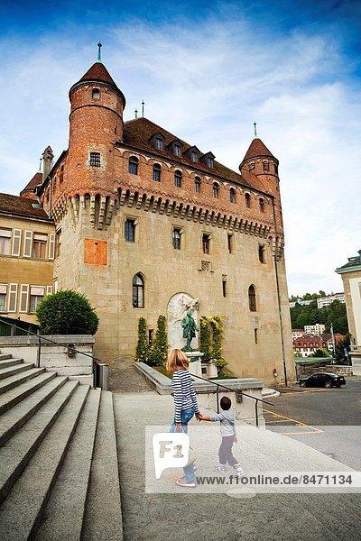 Europa  Lausanne  Schweiz