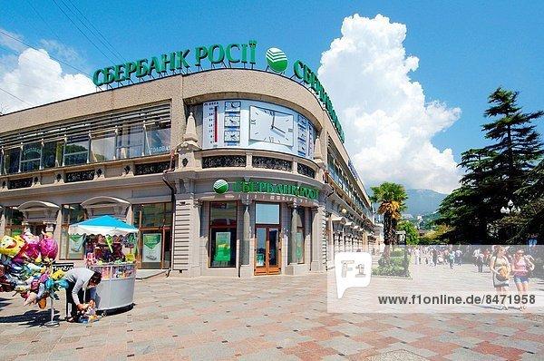 Osteuropa sparen Krim Bank Kreditinstitut Banken russisch Ukraine