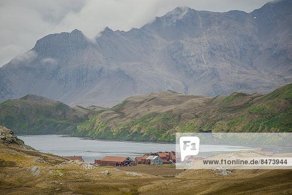 Insel Sandwich König - Monarchie Bucht Südgeorgien unbewohnt leer stehend