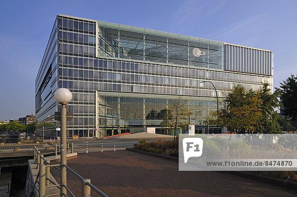 Deichtor-Center mit ZDF-Studio  Hamburg  Deutschland