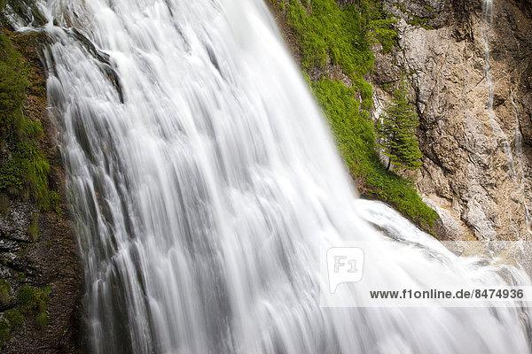 Wasserlochklamm  Wasserfall  Palfau  Gesäuse  Steiermark  Österreich