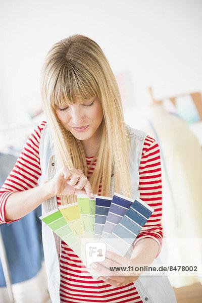 Farbaufnahme,  Farbe , halten , Designer , Muster