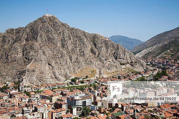 Ansicht König - Monarchie Katakombe Anatolien Asien Zitadelle Türkei