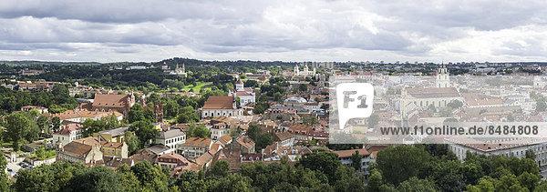 Vilnius Hauptstadt Ansicht Litauen