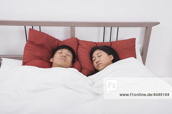 Bett  schlafen