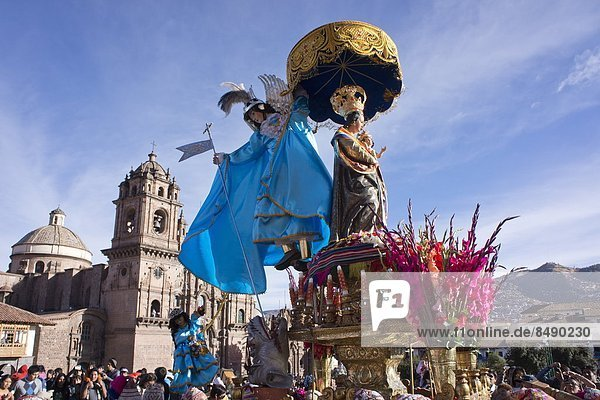 Religion  wichtig  Festival  Peru  Südamerika