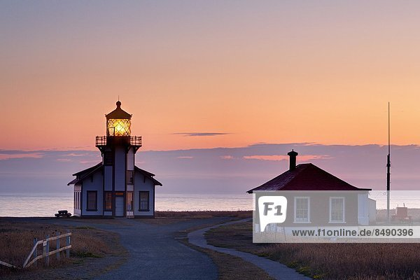 Point Cabrillo Lighthouse  Mendocino County  California  United States of America  North America