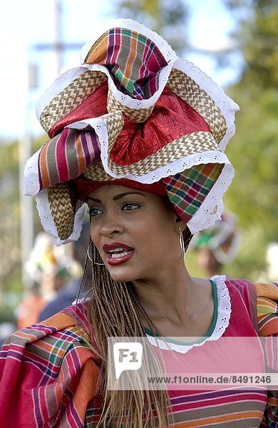 Frau  Karibik  Festival  Kostüm - Faschingskostüm  Kultur  Jamaika