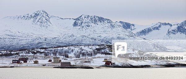 nahe  Kreis  Norwegen  Insel  Norden  Arktis  Weiler