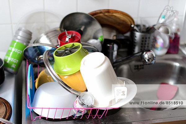 Abwasch / Küchenutensilien