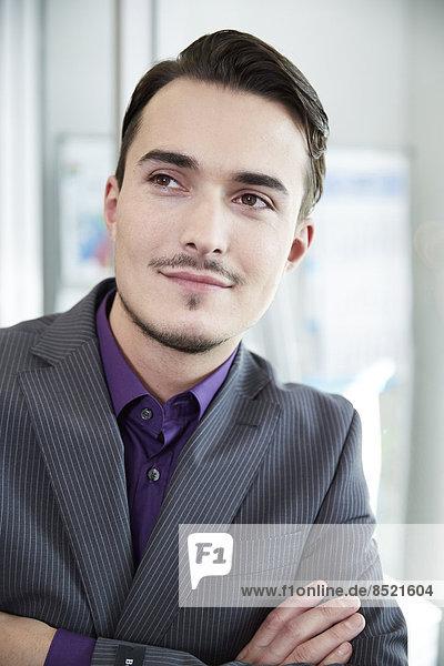 Germany  Neuss  Portrait of a business man