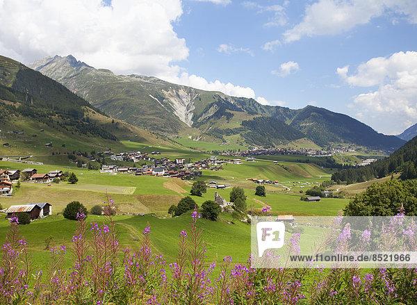 Switzerland  Grisons  Rueras at Surselßa ßalley
