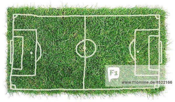 Einsamkeit  weiß  Hintergrund  Feld  Fußball  Phantasie