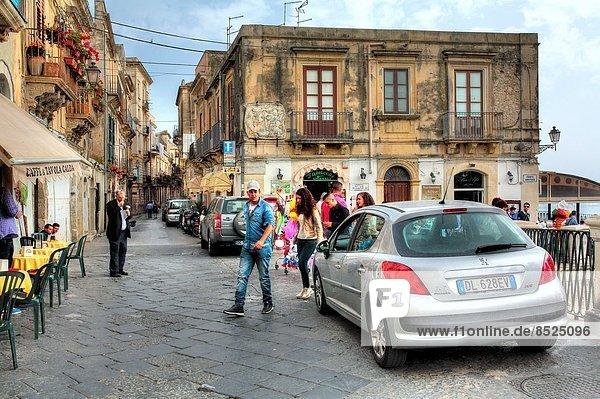 Italien Sizilien Syrakus