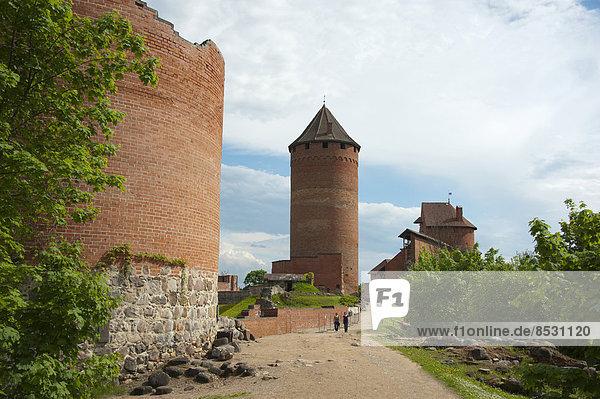 Burg Turaida  Sigulda  Lettland  Baltikum