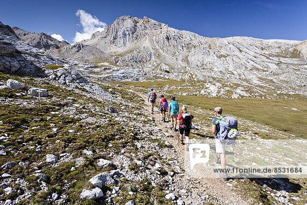 Reitsattel Sattel Rückansicht Trentino Südtirol Naturpark Fanes-Sennes-Prags