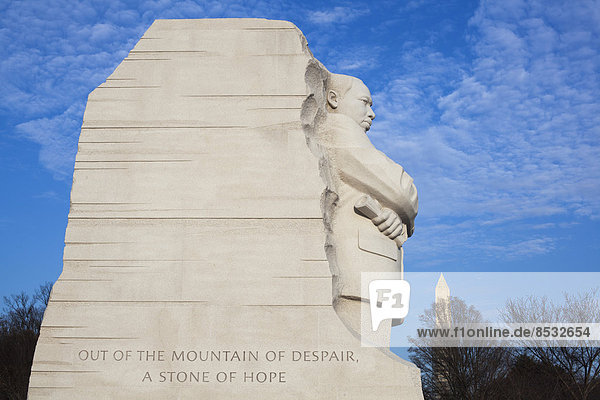 The Martin Luther King Jr. Memorial  Washington  District of Columbia  United States