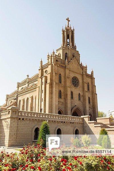 Kirche  Heiligkeit  herzförmig  Herz  Jesus Christus  katholisch  Usbekistan