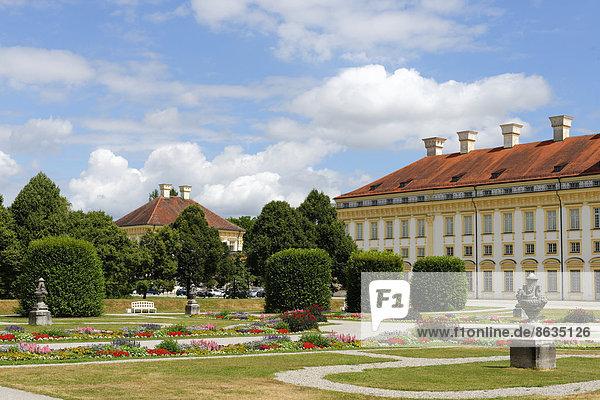 Schloss Schleißheim  Oberschleißheim  Oberbayern  Bayern  Deutschland
