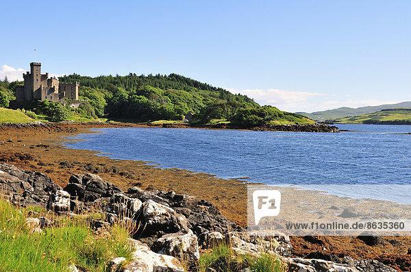 Dunvegan Castle  Ross  Skye and Lochaber  Skye  Schottland  Großbritannien